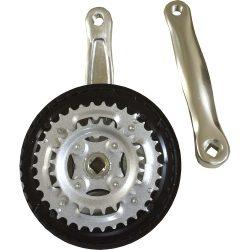 Mtb Triple Chainwheel Set Aluminium